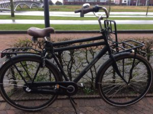 Deze fiets wordt nog vermist.