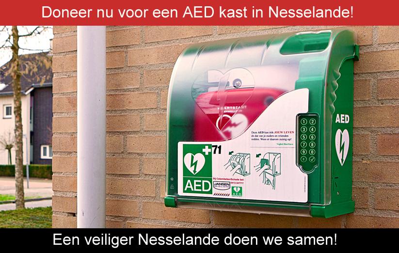 Buurt AED voor Waterwijk (inmiddels gefinancierd)