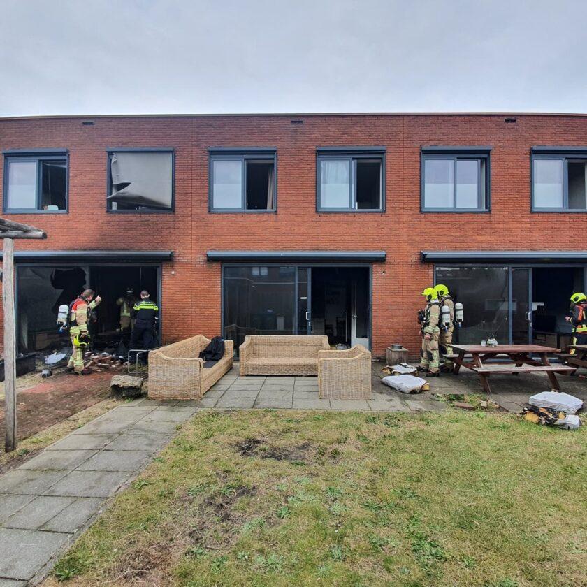 Schade groot na brand in Nesselande